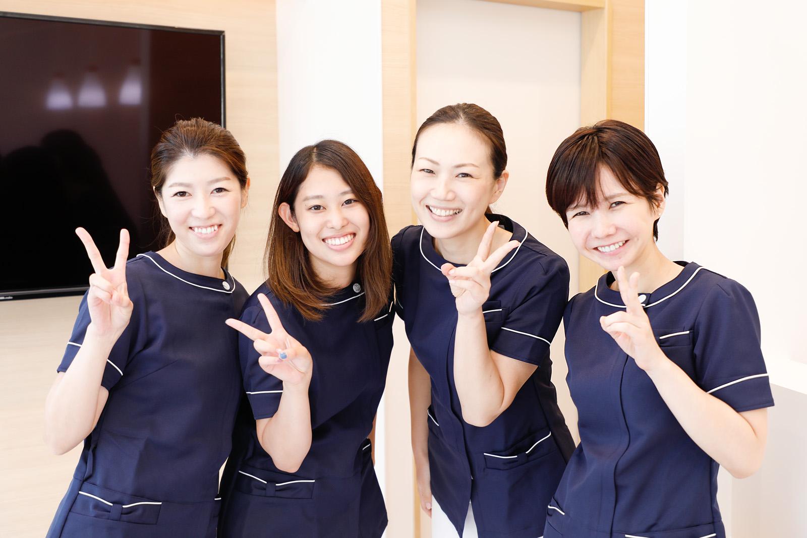 まずは「歯医者さんの雰囲気」に慣れてもらいます